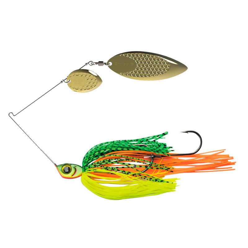 Fire Tiger Leurre Métallique Spinnerbait Spinner Dogon Biwaa Crankys