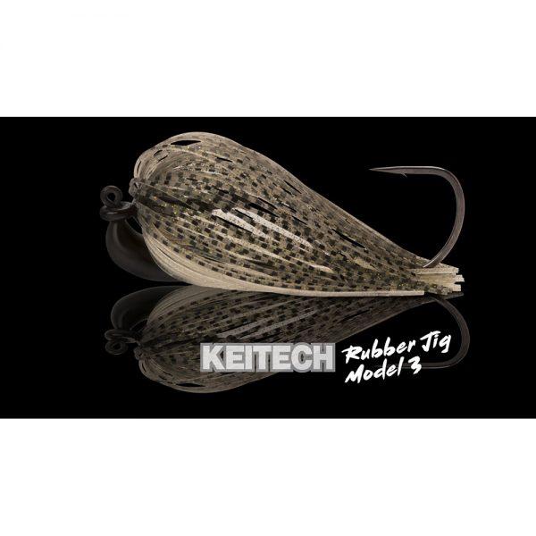 Leurre Chatterbait Rubber Jig Model 3 Keitech Crankys