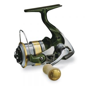 Crankys Moulinet spinning cardiff CI4+ truite shimano UL pêche