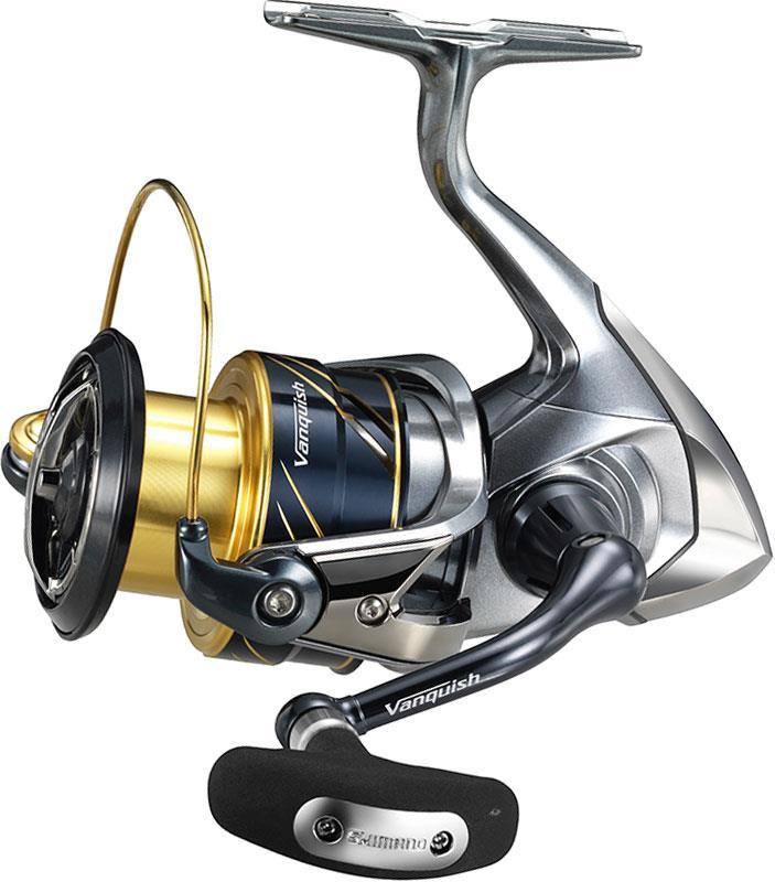 Crankys moulinet spinning shimano vanquish pêche fishing