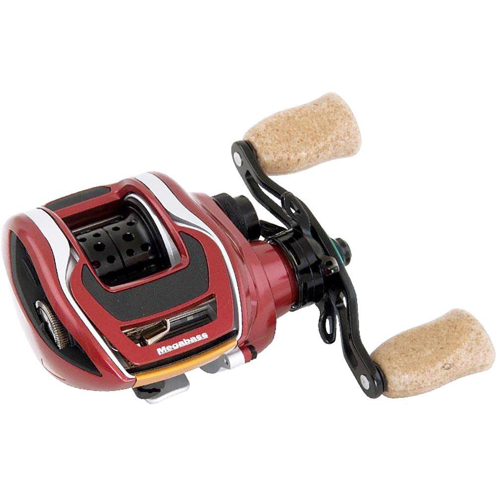 crankys moulinet casting megabass fx68l rosso pêche fishing