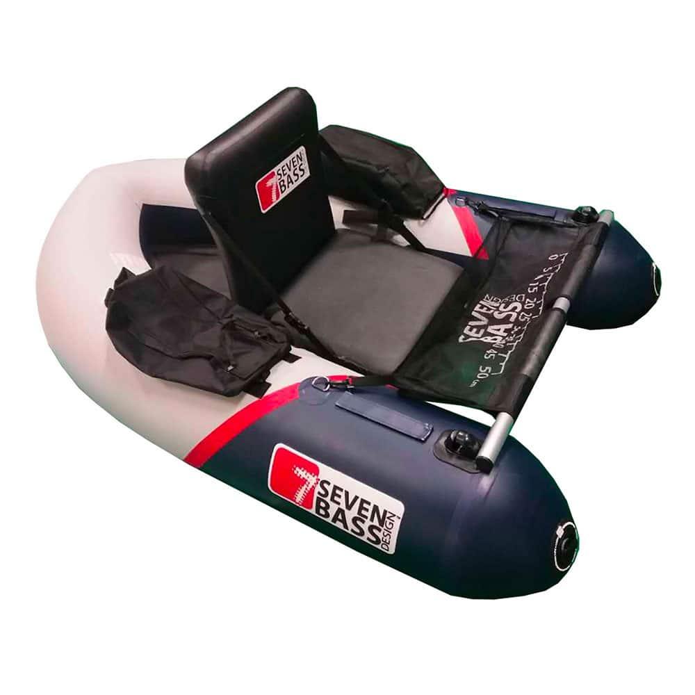 crankys seven bass float tube brigad racing 160 pêche fishing