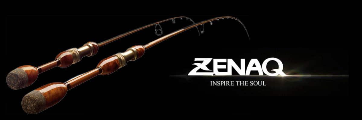 bannière marque zenaq canne à pêche luxe Crankys