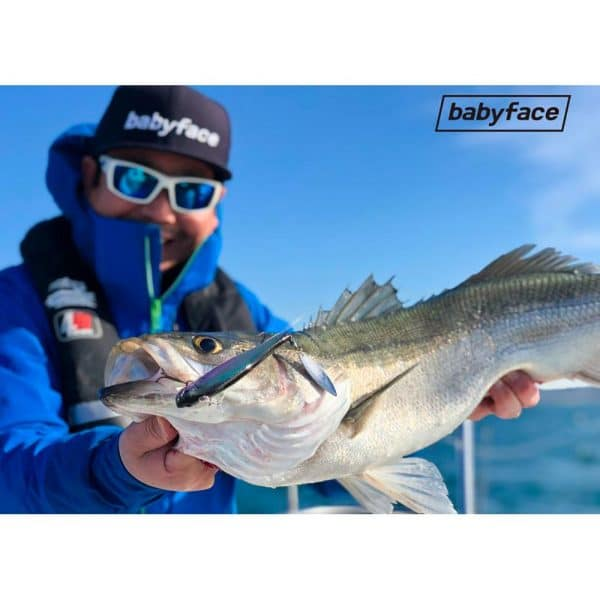 crankys leurre dur babyface sm135s bar brochet mer fishing pêche