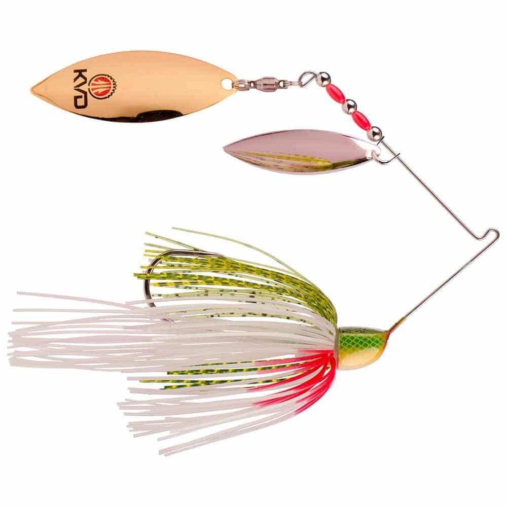 crankys leurre métallique KVD Spinnerbait spiner strike king pêche fishing