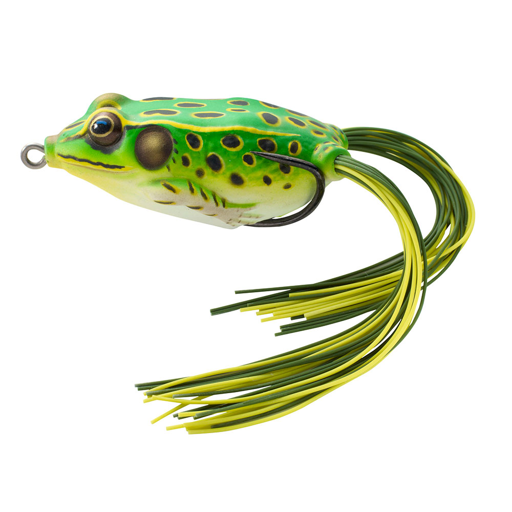 crankys leurre surface hollow body frog live target pêche fishing