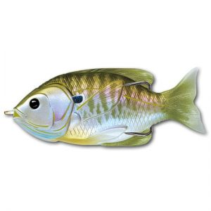 crankys sunfish hollow body live target pêche fishing leurre armé