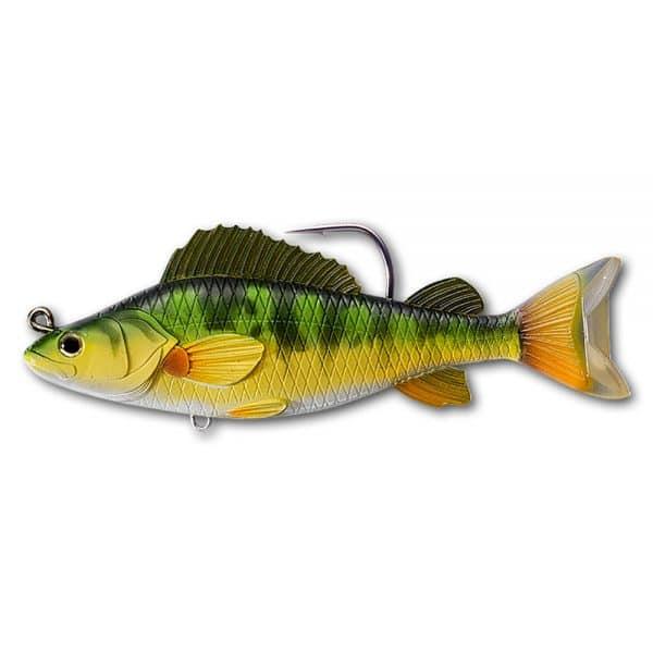 crankys leurre swimbait yellow perch live target pêche fishing