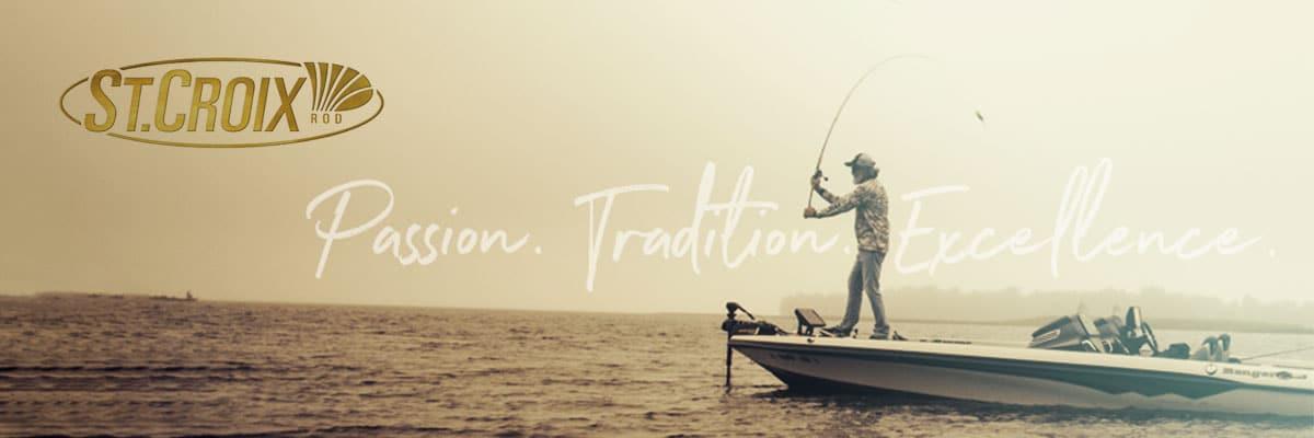 St Croix est une des plus anciennes marques américaines. Pas de superflu mais de l\'efficacité ! Ce sont des cannes dessinées par des pros, fabriquées à la main et plébiscitées par des centaines de pros et de guides de pêche... La réputation des cannes St Croix est basée sur la constante d\'innovation technologique de la marque et sur une solidité à toute épreuve. Les cannes à pêche St Croix bénéficient d\'une finition et d\'une qualité de montage exceptionnelles. Cette marque incontournable de la Pêche fait partie du catalogue Crankys