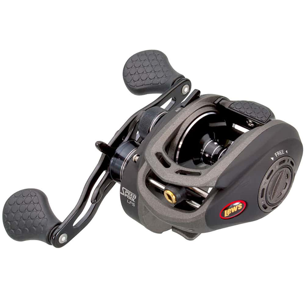 crankys moulinet casting lew's super duty g speed spool lfs pêche fishing