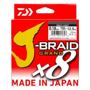 J-BRAID GRAND X8 Grise - Daiwa