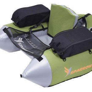 Float Tube Cargo vert/gris - Sparrow