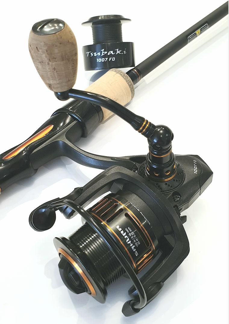 crankys moulinet sakura tsubaki pêche à la truite fishing trout
