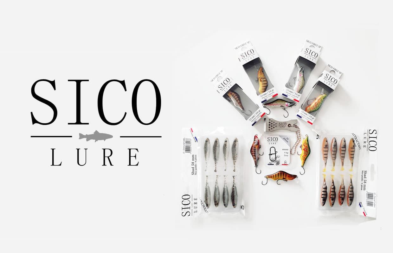 SICO LURE est la première marque française spécialisée dans la pêche de la truite aux leurres.