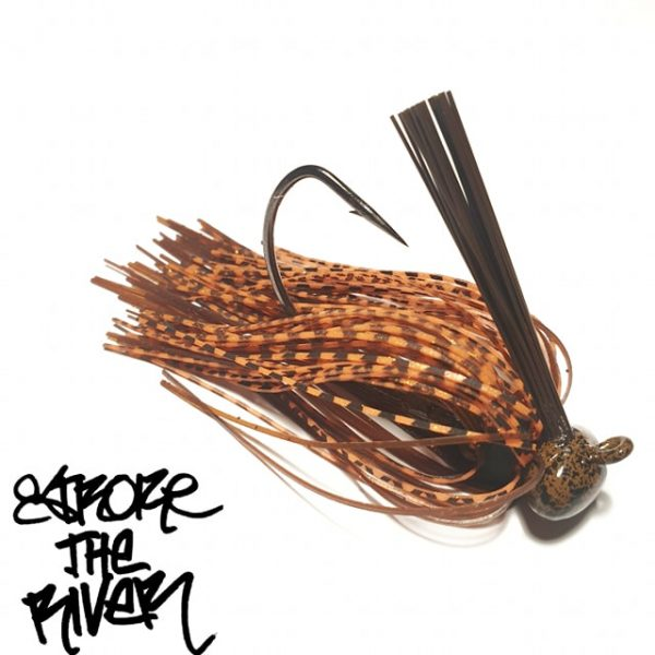crankys-rubber-jig-autumn-killer-stroke-the-river