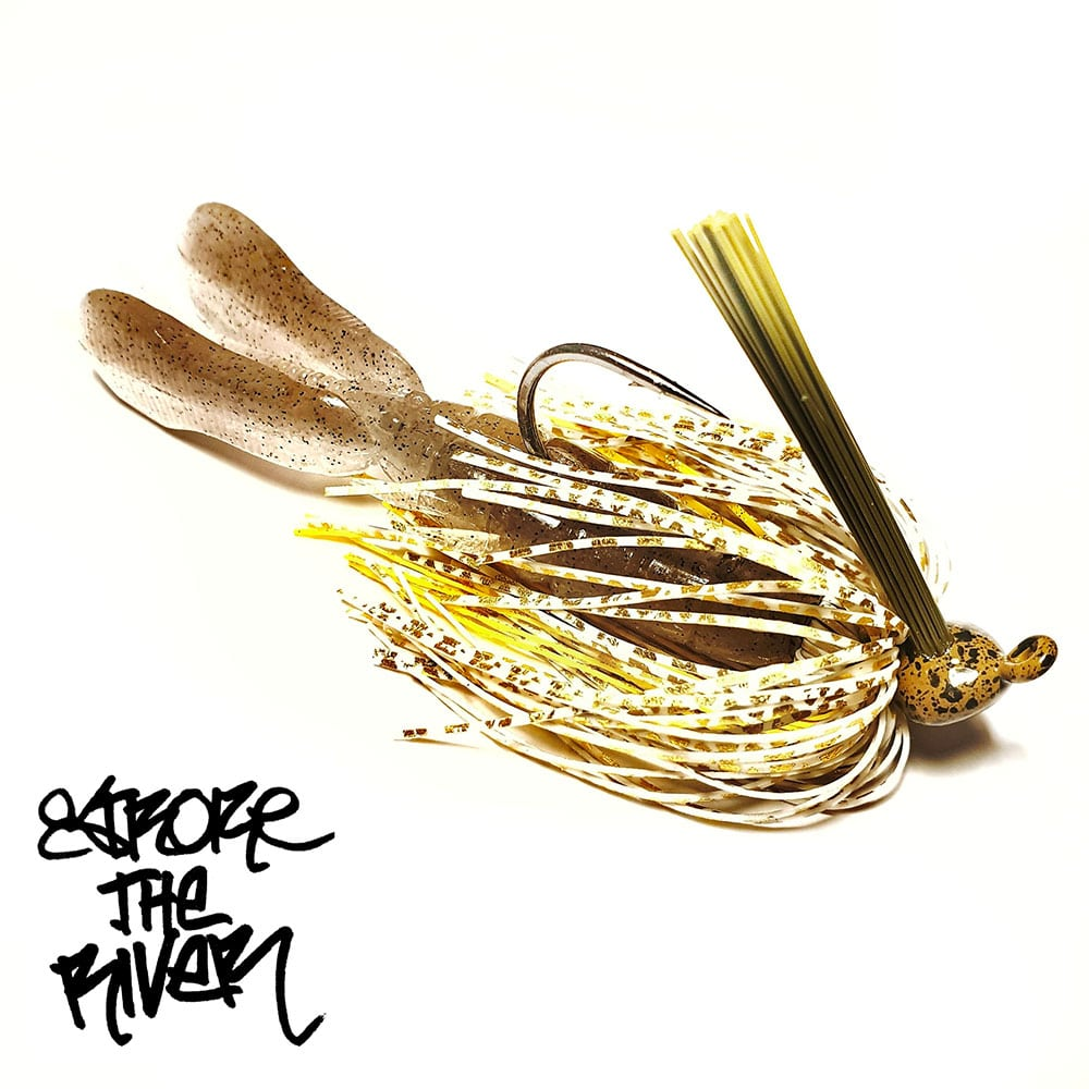 crankys-rubber-jig-golden-gill-stroke-the-river