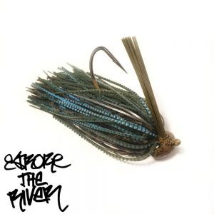 Natural Blue Craw 14g - Stroke The River