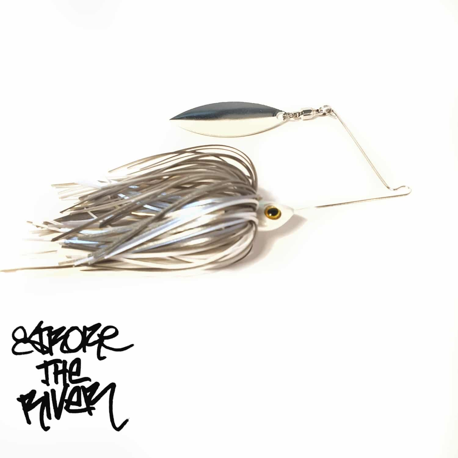 crankys leurre spinnerbait stroke the river spin minnow pêche fishing