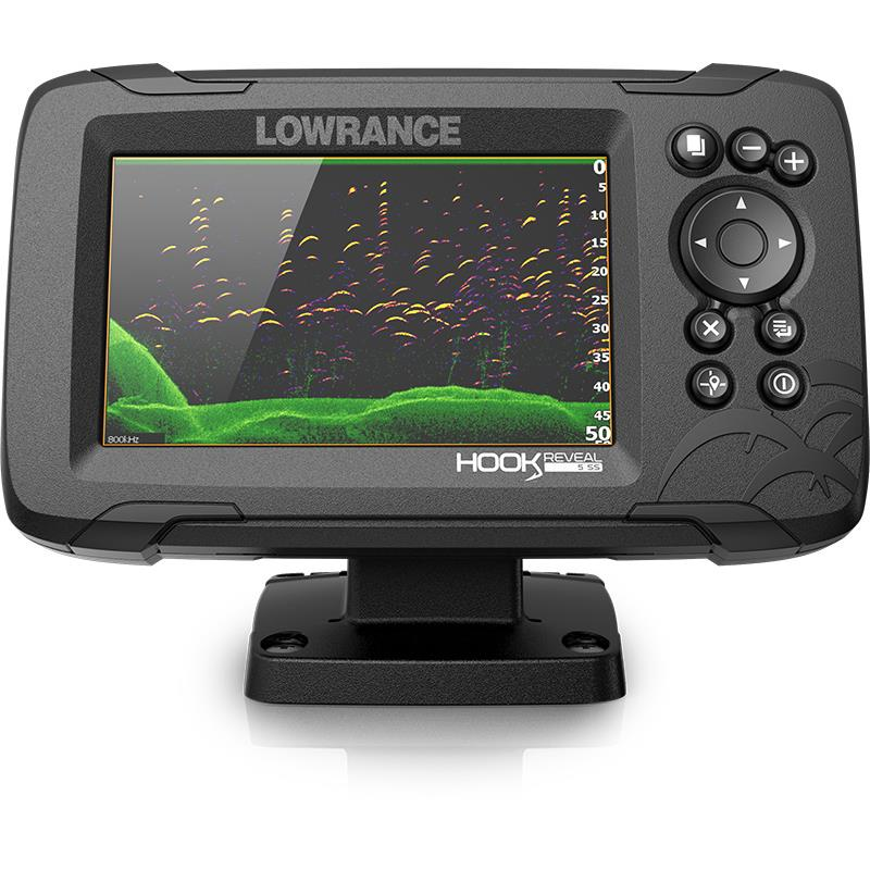 crankys sondeur lowrance hook reveal 5 pêche fishing