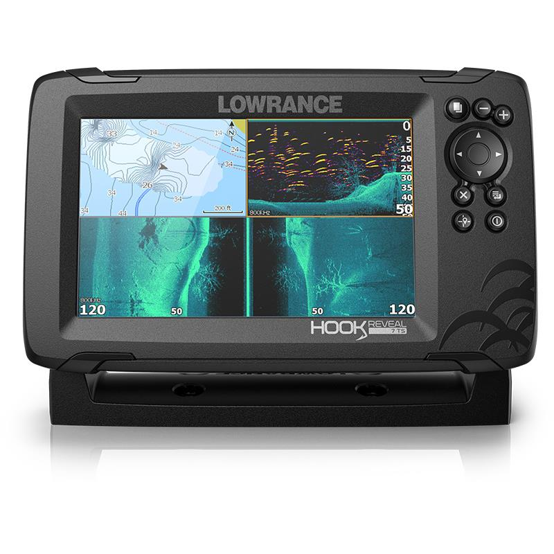 crankys sondeur lowrance hook reveal 7 pêche fishing