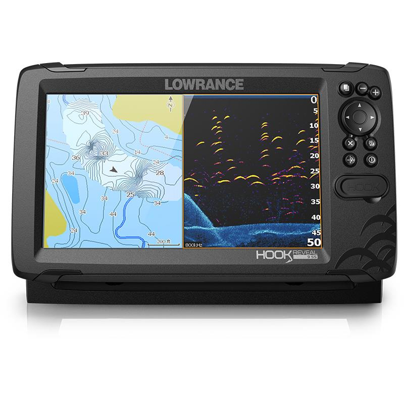 crankys sondeur lowrance hook reveal 9 pêche fishing