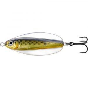 crankys leurre cuiller ondulante erratic shiner pour pêche brochet de live target