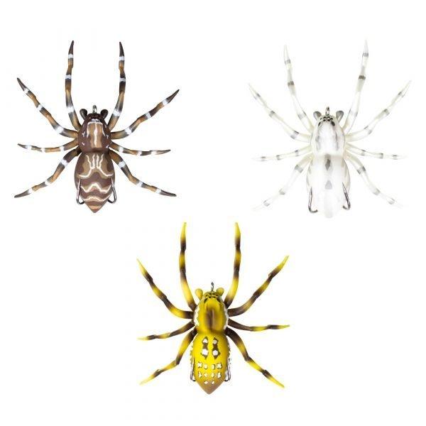Leurre Phantom Spider topwater de Lunkerhunt, véritable imitation d'une araignée
