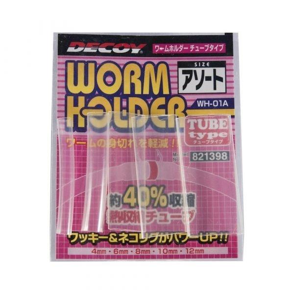 tube pour wacky worm holder decoy crankys pêche fishing