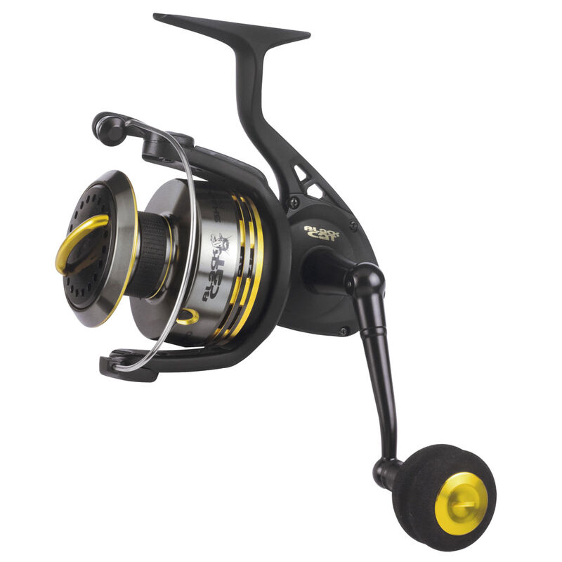 crankys moulinet silure shadow spin black cat pêche fishing