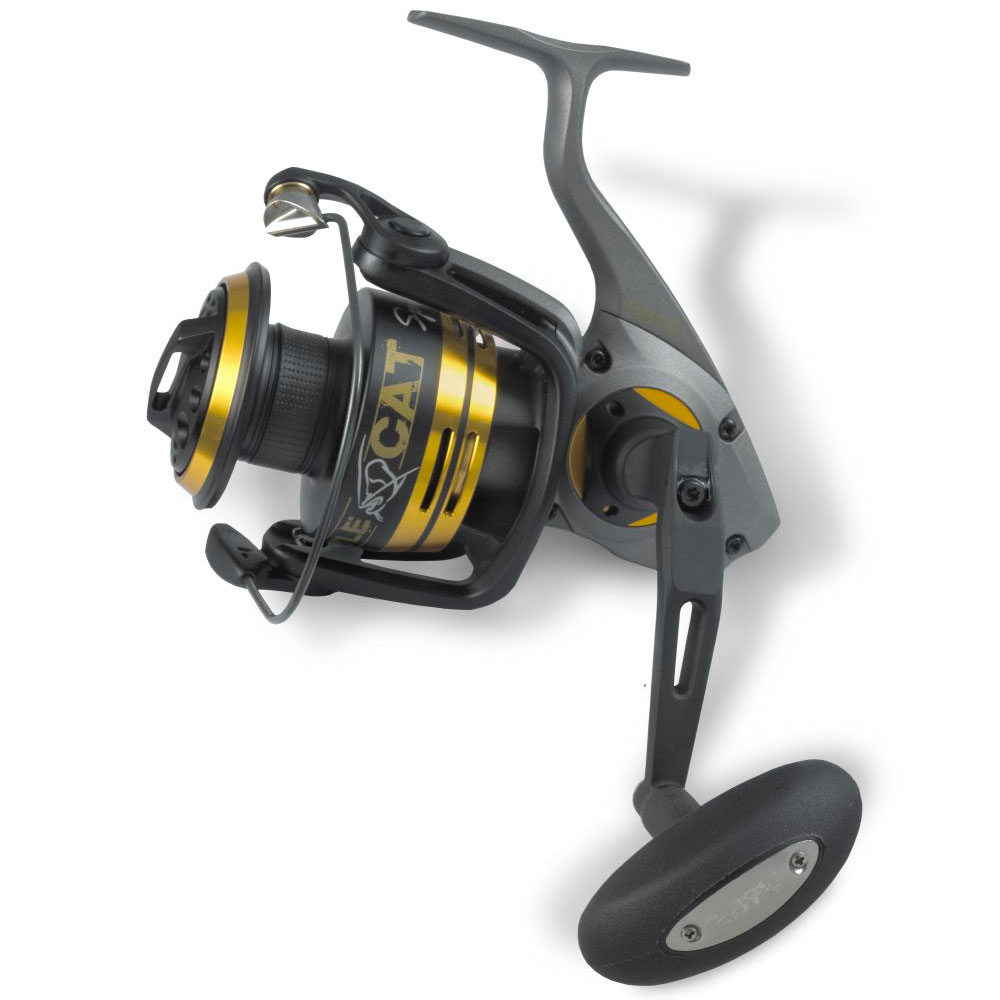 crankys moulinet silure battle cat spin black cat pêche fishing