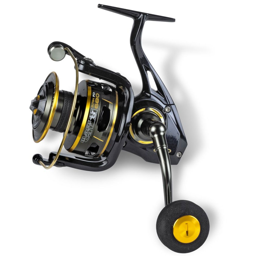 crankys moulinet silure buster spin black cat pêche fishing