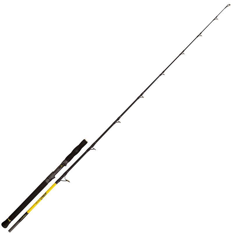 crankys canne silure black cat spin stick pêche fishing