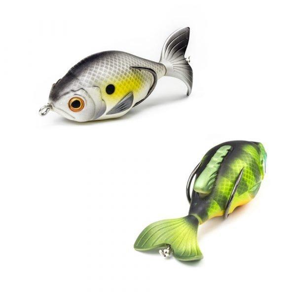 crankys leurre surface topwater prop fish lunkerhunt pêche black bass fishing