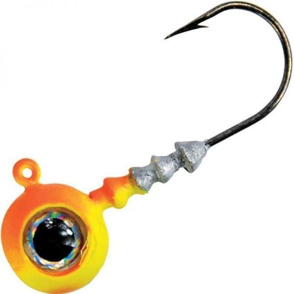 crankys tête plombé big eye de vmc pêche fishing linéaire verticale