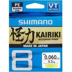 Kairiki 8 VT jaune 150m - Shimano