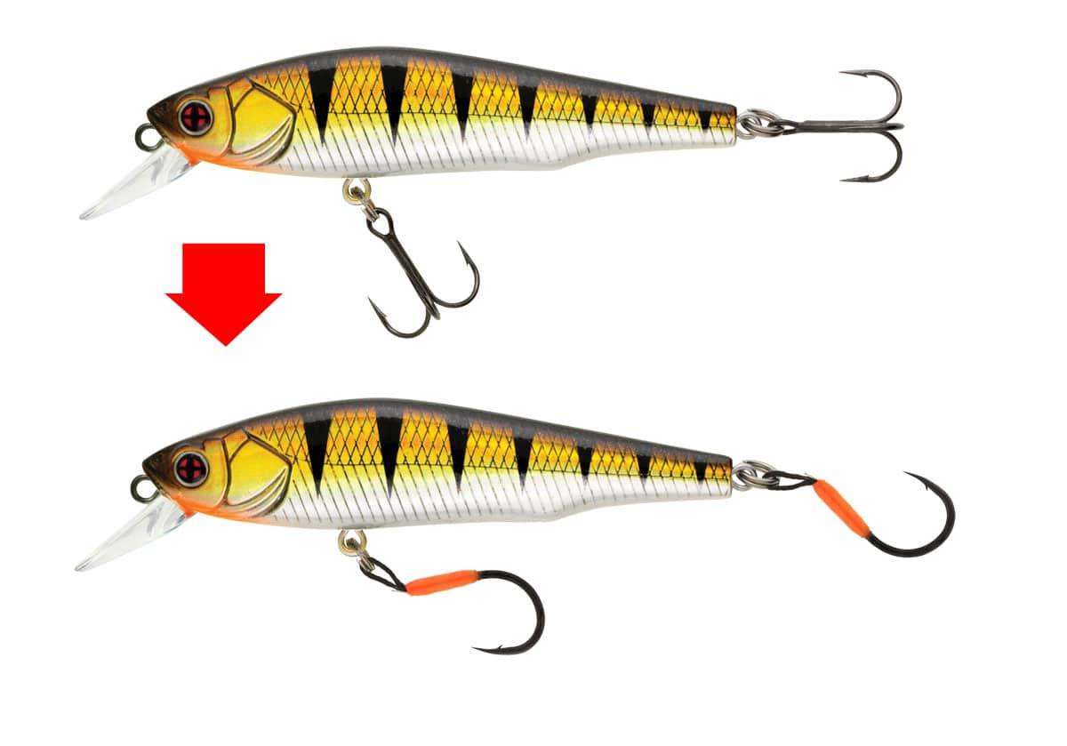 crankys trout single assist hook de sakura hameçon pêche truite fishing