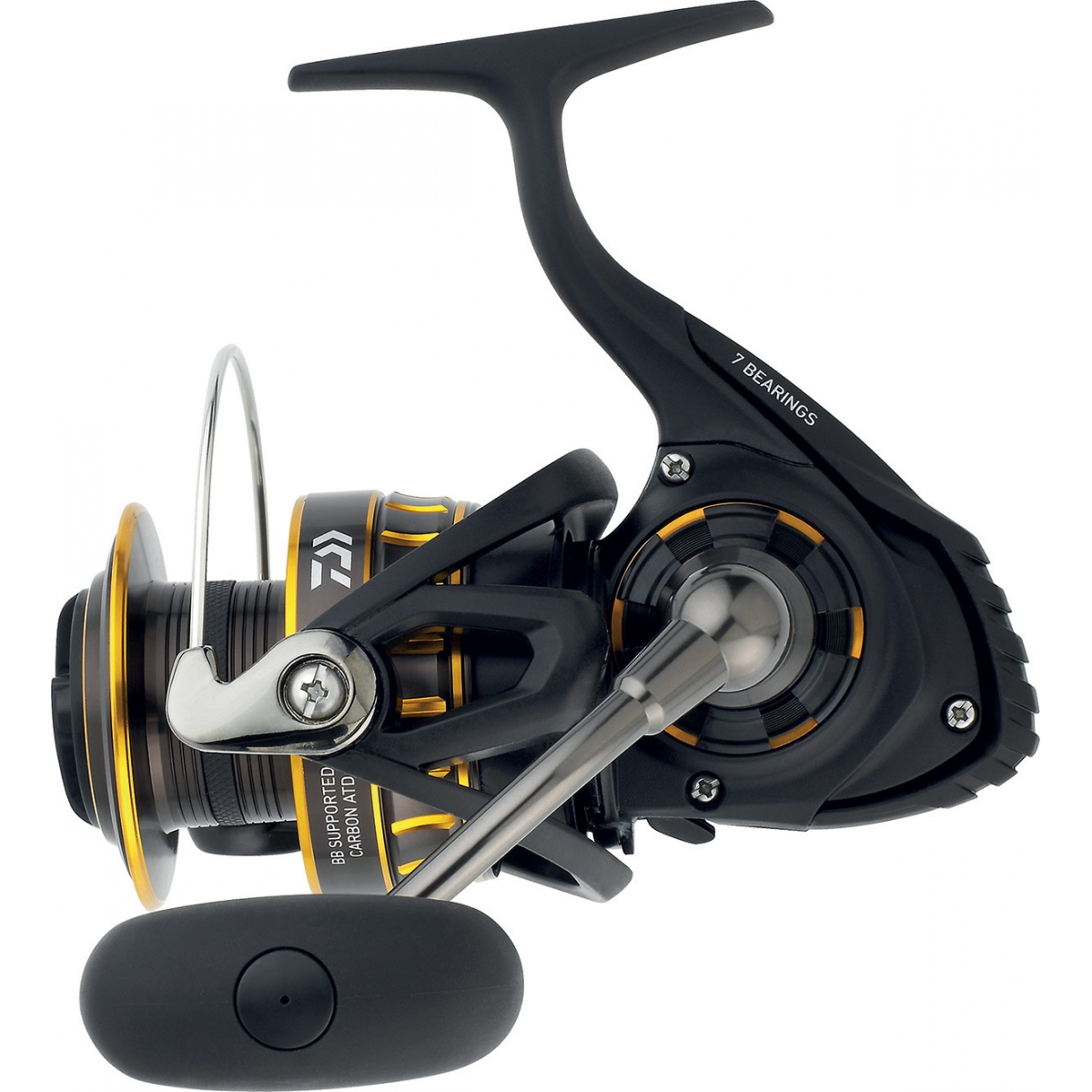 crankys moulinet spinning daiwa BG black gold pêche spinning