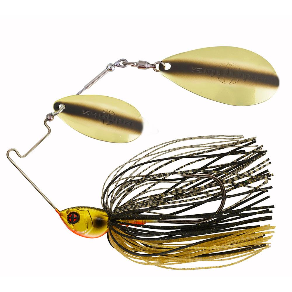 crankys cajun spinnerbait sakura pêche fishing