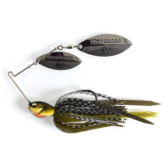 crankys spinnerbait megabass SV-3 double willow pêche fishing