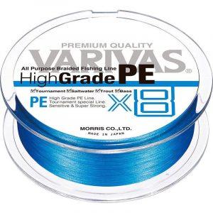 Tresse Highgrade PE x8 - Varivas