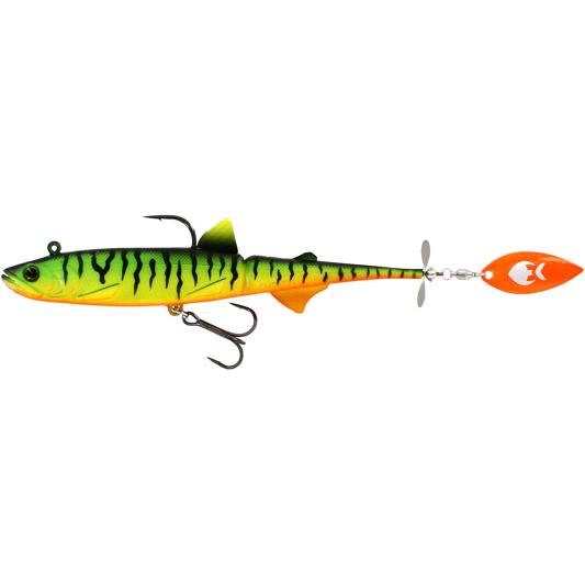 crankys leurre souple à palette et hélice hypoteez buzz n blade westin pêche fishing carnassier