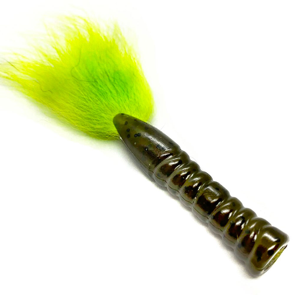crankys fox tail leurre souple rabid baits pêche fishing