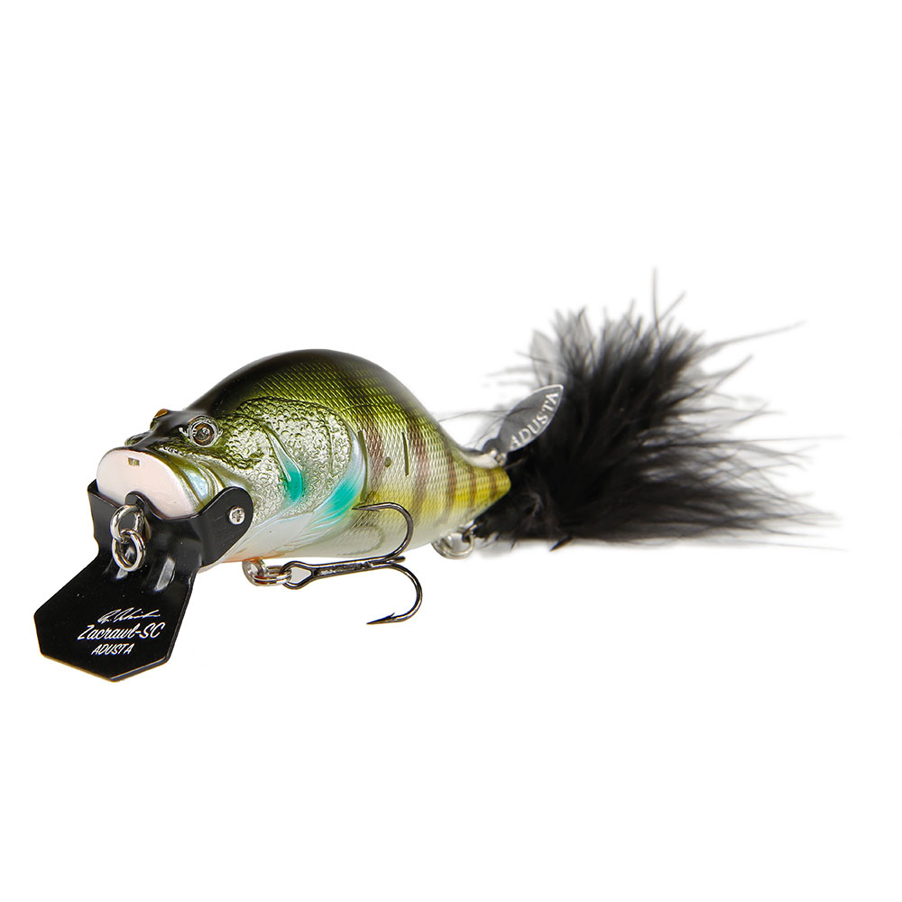 crankys zacrawl sc adusta poisson nageur crankbait pêche fishing