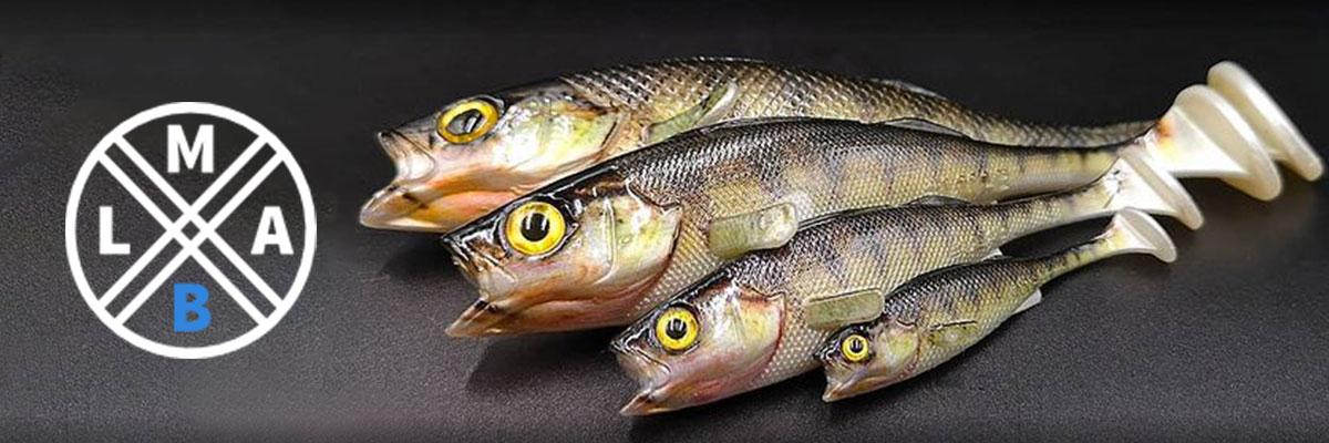 #LMAB (abréviation de Leck mich am Barsch) propose est une marque moderne allemande de produits de pêche Crankys aime les leurres de Finesse Filet avec sa tête épaisse, le look atypique de Drunkbait, et les leurres imitation de KØFI. Coup de coeur de Crankys pour la canne à pêche ultra légère de La Moustique.