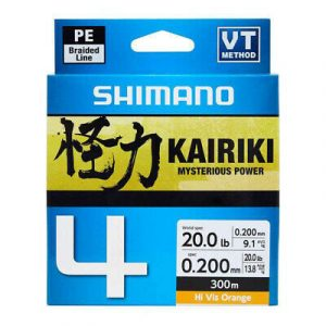 Kairiki 4 VT orange 150m - Shimano