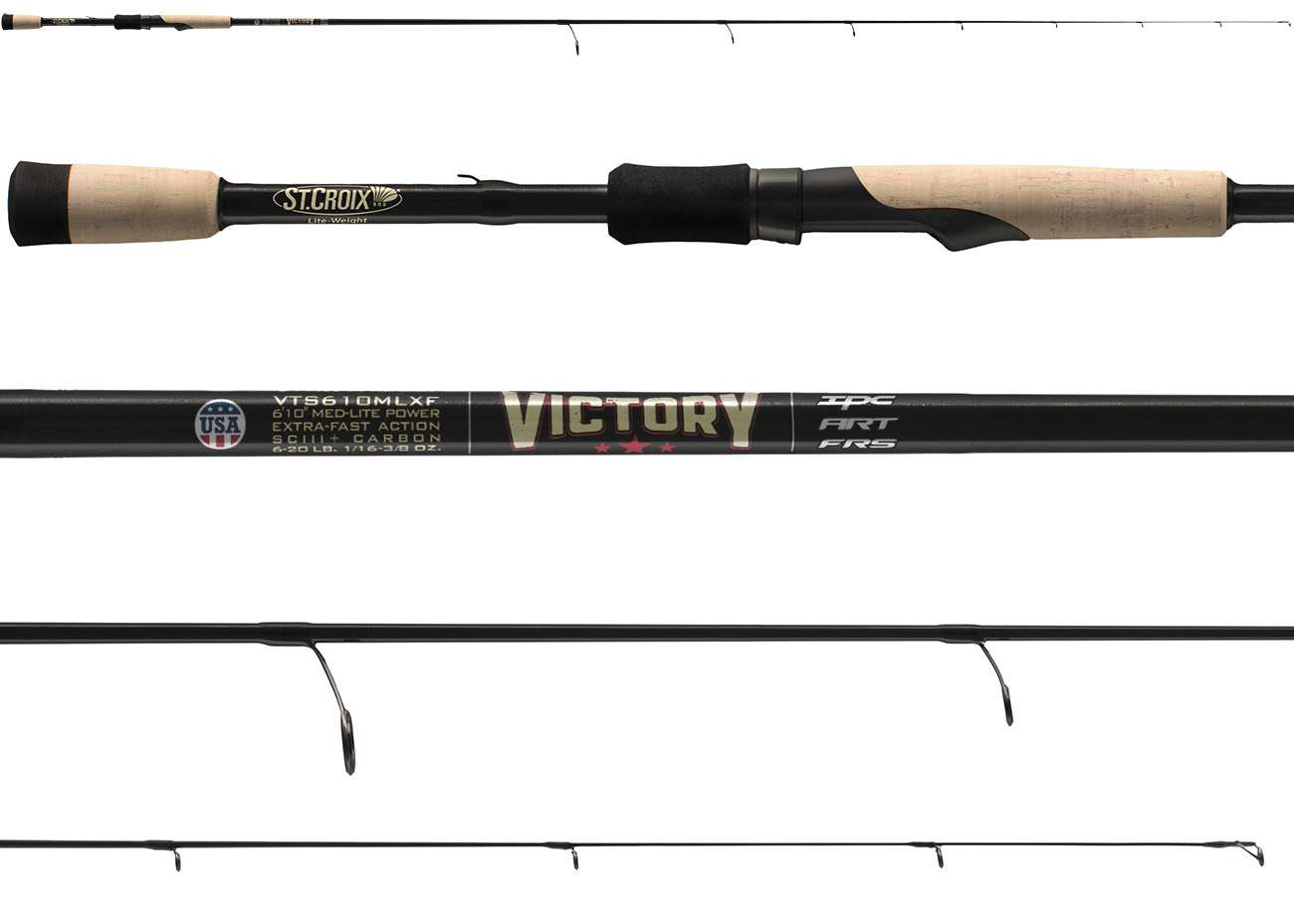 crankys victory st croix canne spinnning pêche fishing